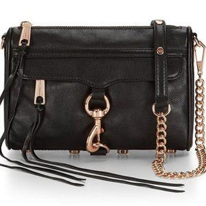Rebecca Minkoff HF14RFCX01Mini MAC Rosegold Black